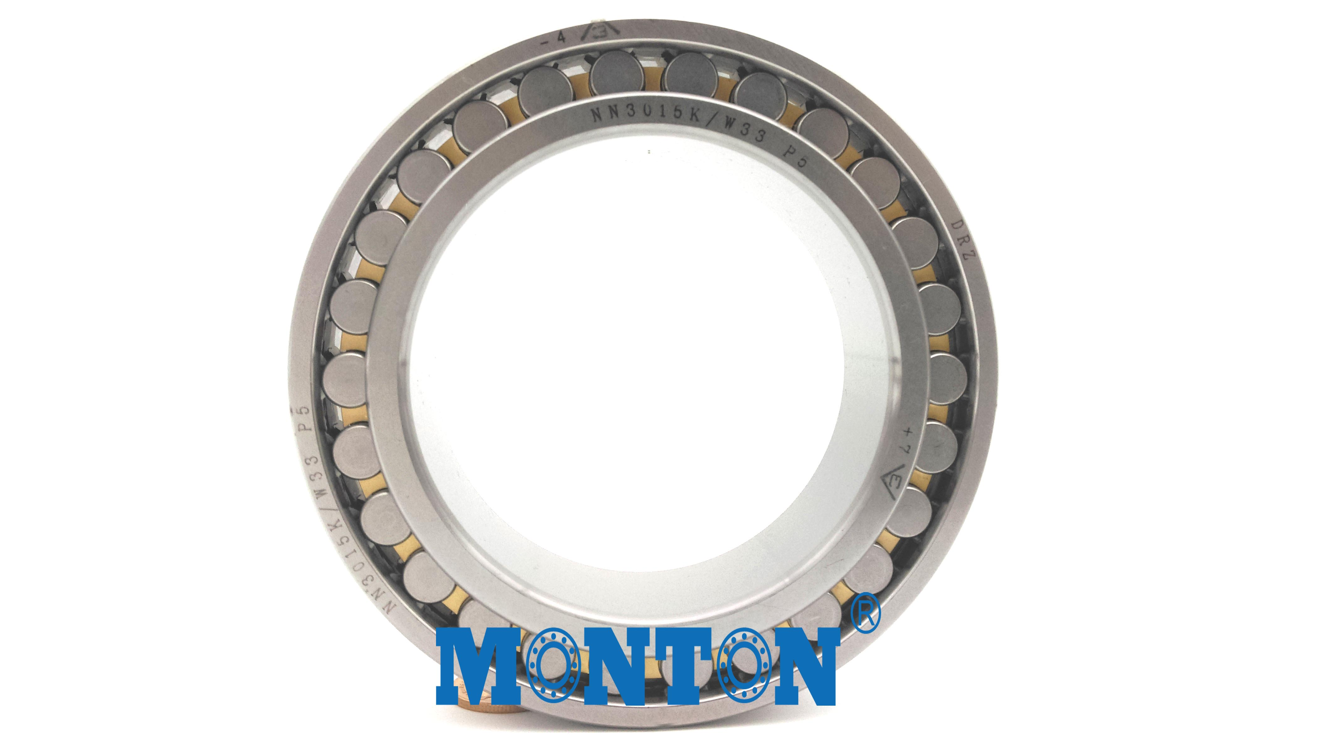 NN3015KW33/P5  Cylindrical Roller Bearings Machine Tool Spindle Bearings