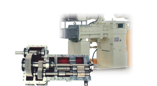Twin Extruder Gearbox