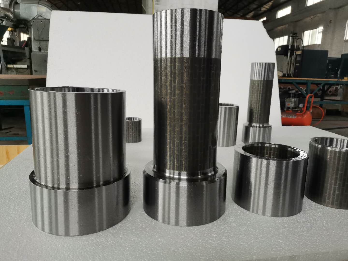 Drilling Tungsten Carbide Tile Sliding Radial Bearing With Increased Bearing Life