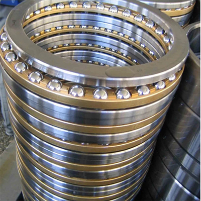 Single direction angular contact thrust ball bearings