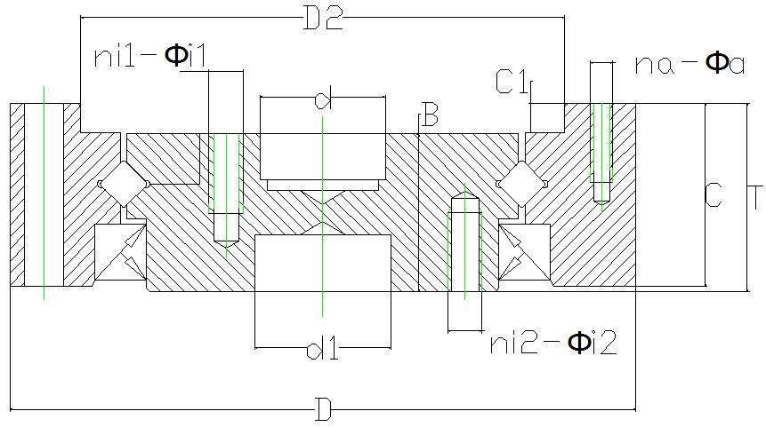CSD harmonic Drive Bearing