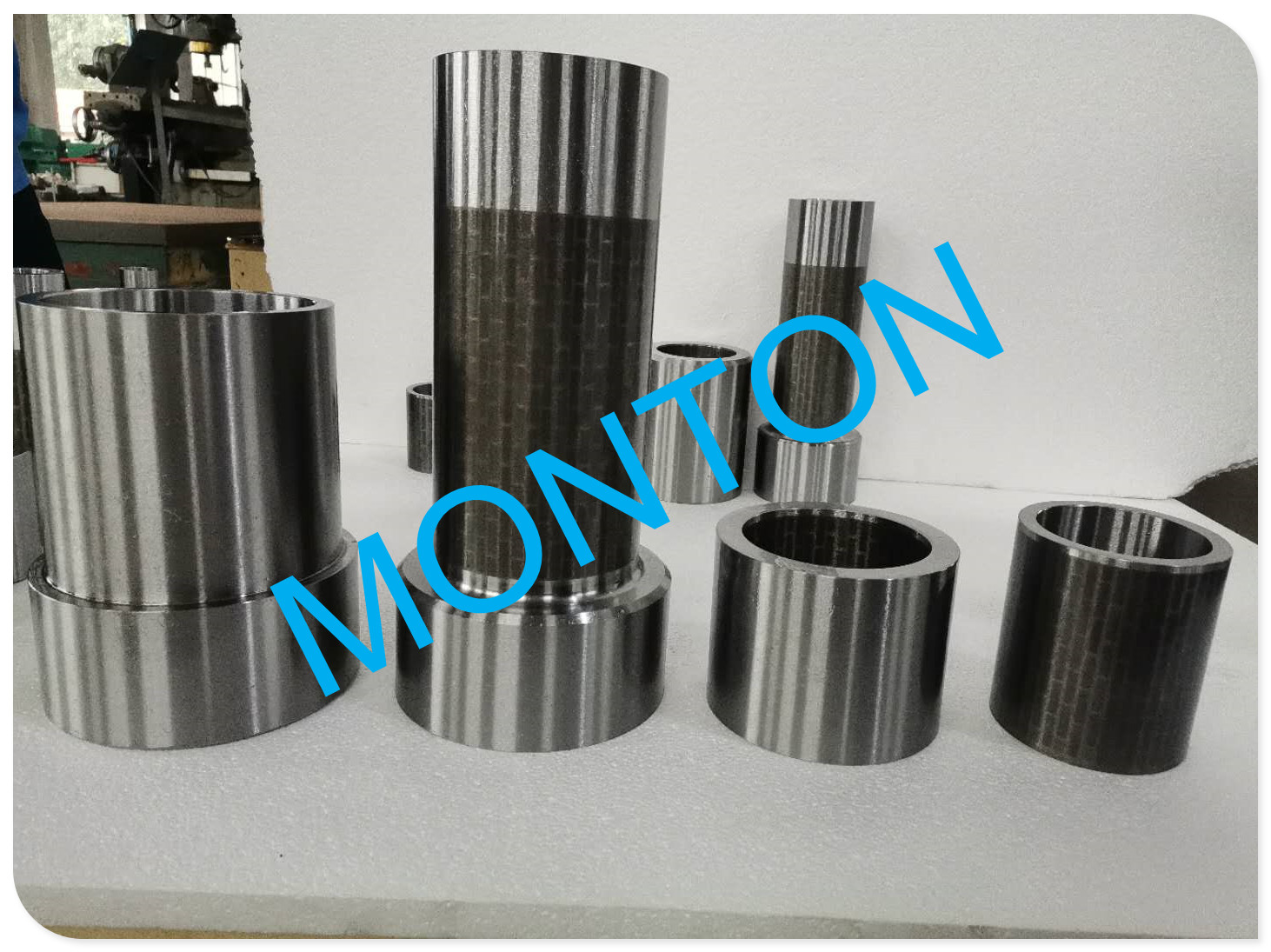 Hard alloy outer bottom Radial bearing for downhole drilling motors bearings