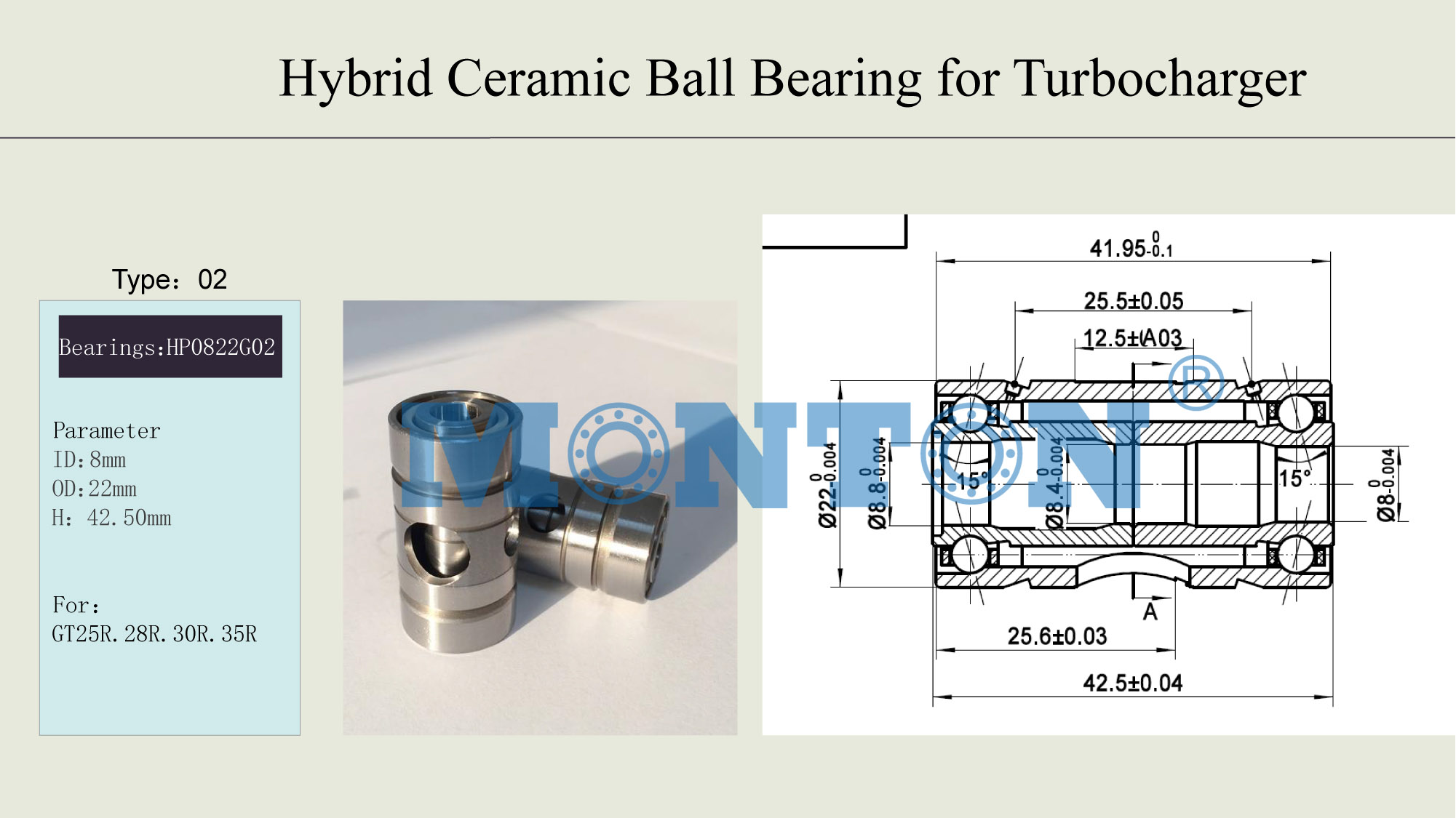 Turbo Charger Bearing